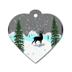 Rocky Mountain High Colorado Dog Tag Heart (one Side)