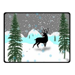 Rocky Mountain High Colorado Fleece Blanket (small)