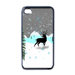 Rocky Mountain High Colorado Apple Iphone 4 Case (black)