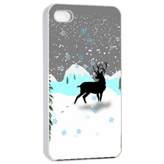 Rocky Mountain High Colorado Apple iPhone 4/4s Seamless Case (White)