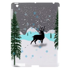 Rocky Mountain High Colorado Apple Ipad 3/4 Hardshell Case (compatible With Smart Cover)
