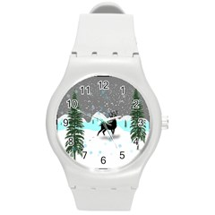 Rocky Mountain High Colorado Round Plastic Sport Watch (m)