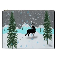 Rocky Mountain High Colorado Cosmetic Bag (xxl)