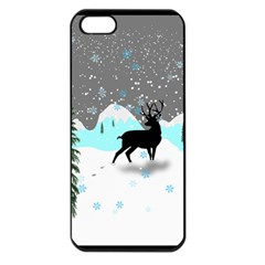 Rocky Mountain High Colorado Apple Iphone 5 Seamless Case (black)