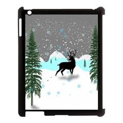 Rocky Mountain High Colorado Apple Ipad 3/4 Case (black)