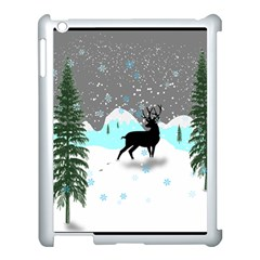 Rocky Mountain High Colorado Apple Ipad 3/4 Case (white)