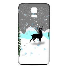 Rocky Mountain High Colorado Samsung Galaxy S5 Back Case (white)