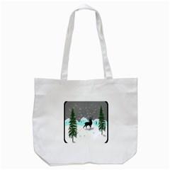 Rocky Mountain High Colorado Tote Bag (white)