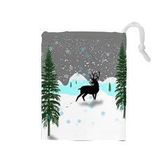 Rocky Mountain High Colorado Drawstring Pouches (medium)