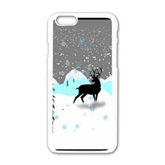 Rocky Mountain High Colorado Apple Iphone 6/6s White Enamel Case