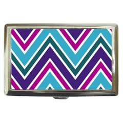 Fetching Chevron White Blue Purple Green Colors Combinations Cream Pink Pretty Peach Gray Glitter Re Cigarette Money Cases