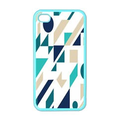 Geometric Apple Iphone 4 Case (color)