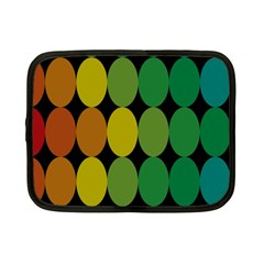 Geometry Round Colorful Netbook Case (small)
