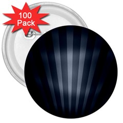 Grey Black 3  Buttons (100 Pack)
