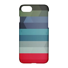 Line Light Stripes Colorful Apple Iphone 7 Hardshell Case