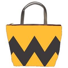 Minimal Modern Simple Orange Bucket Bags