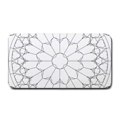 Roses Stained Glass Medium Bar Mats