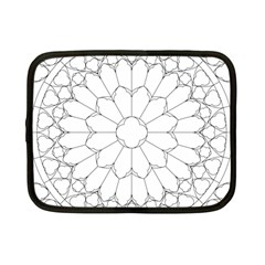 Roses Stained Glass Netbook Case (small)