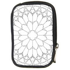 Roses Stained Glass Compact Camera Cases