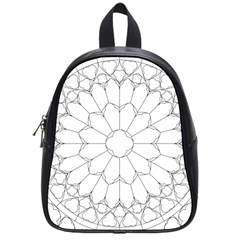 Roses Stained Glass School Bags (small)