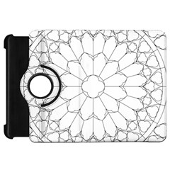 Roses Stained Glass Kindle Fire Hd 7