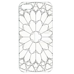 Roses Stained Glass Apple Iphone 5 Hardshell Case With Stand