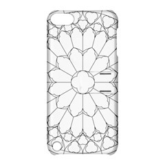 Roses Stained Glass Apple Ipod Touch 5 Hardshell Case With Stand
