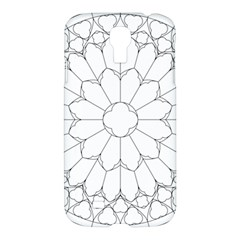 Roses Stained Glass Samsung Galaxy S4 I9500/i9505 Hardshell Case