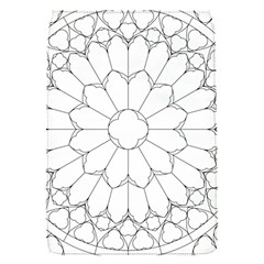 Roses Stained Glass Flap Covers (s)