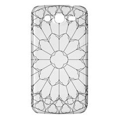 Roses Stained Glass Samsung Galaxy Mega 5 8 I9152 Hardshell Case