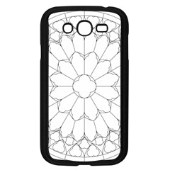 Roses Stained Glass Samsung Galaxy Grand Duos I9082 Case (black)