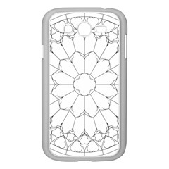 Roses Stained Glass Samsung Galaxy Grand Duos I9082 Case (white)
