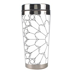 Roses Stained Glass Stainless Steel Travel Tumblers