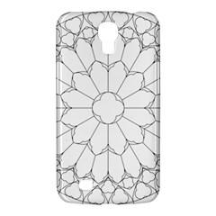 Roses Stained Glass Samsung Galaxy Mega 6 3  I9200 Hardshell Case