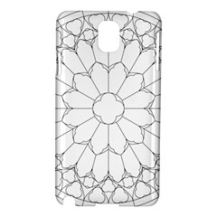 Roses Stained Glass Samsung Galaxy Note 3 N9005 Hardshell Case