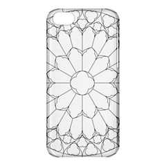Roses Stained Glass Apple Iphone 5c Hardshell Case