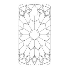 Roses Stained Glass Samsung Galaxy Note 3 N9005 Hardshell Back Case