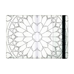 Roses Stained Glass Ipad Mini 2 Flip Cases