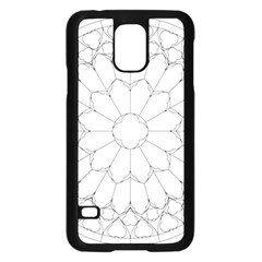 Roses Stained Glass Samsung Galaxy S5 Case (black)