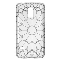 Roses Stained Glass Galaxy S5 Mini