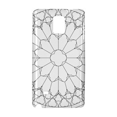 Roses Stained Glass Samsung Galaxy Note 4 Hardshell Case
