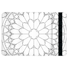 Roses Stained Glass Ipad Air 2 Flip