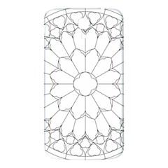 Roses Stained Glass Samsung Galaxy Mega I9200 Hardshell Back Case