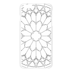 Roses Stained Glass Apple Seamless iPhone 6 Plus/6S Plus Case (Transparent)