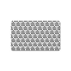 Seamless Honeycomb Pattern Magnet (name Card)