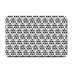 Seamless Honeycomb Pattern Small Doormat