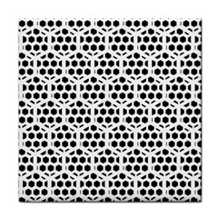 Seamless Honeycomb Pattern Face Towel