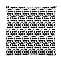 Seamless Honeycomb Pattern Standard Cushion Case (two Sides)