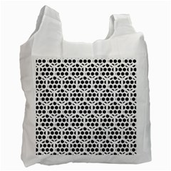 Seamless Honeycomb Pattern Recycle Bag (two Side)