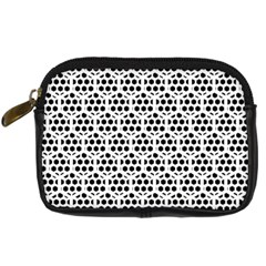 Seamless Honeycomb Pattern Digital Camera Cases